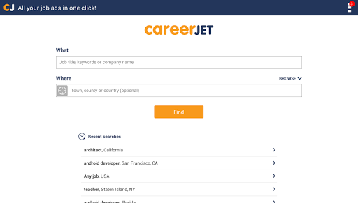 Jobs - Job Search - Careers 6.0.43 Screenshots 6