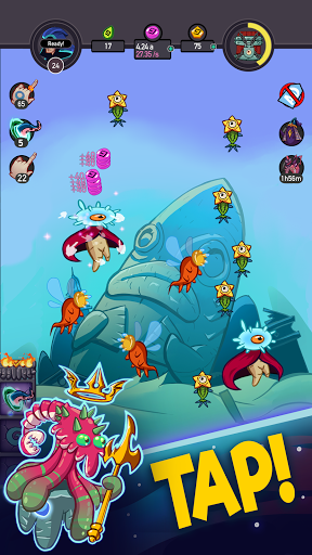 Tap Temple: Monster Clicker Idle Game 2.0.0 screenshots 1