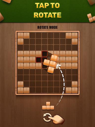 Wooden 100 Block Puzzle - Classic Wood Brain Game screenshots 9