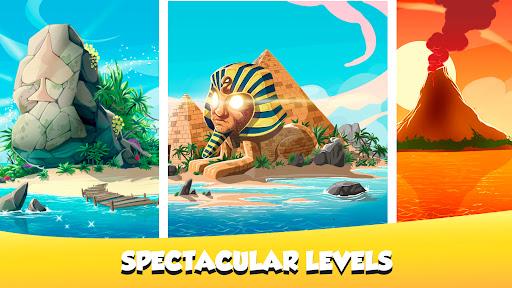 Solitaire Tripeaks - Lost Worlds Adventure 6.3.1 screenshots 3