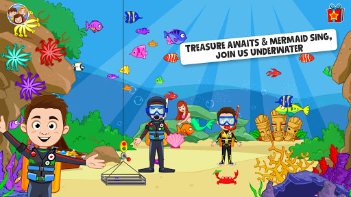 My Town : Beach Picnic Games for Kids  screenshots 5