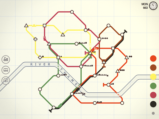 Mini Metro Varies with device screenshots 14