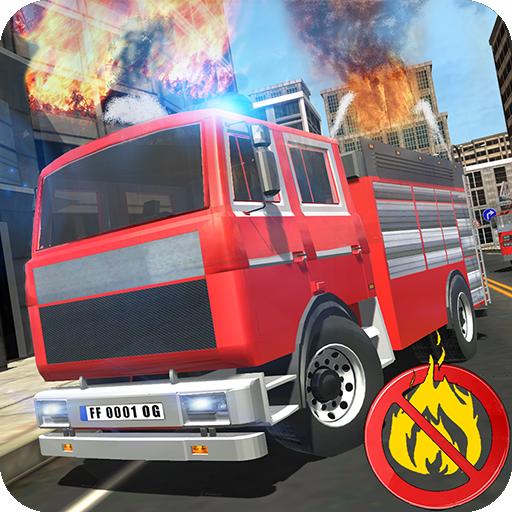 Firefighter - Simulator 3D Icon
