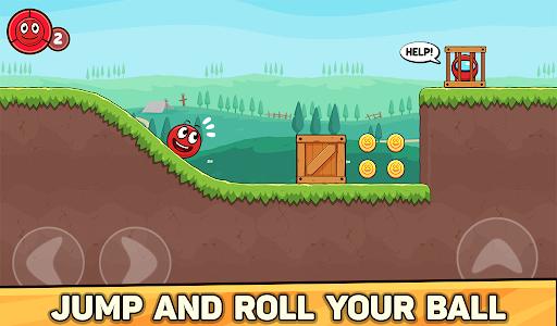 Bounce Ball 6: Red Bounce Ball Hero 5.2 Screenshots 15