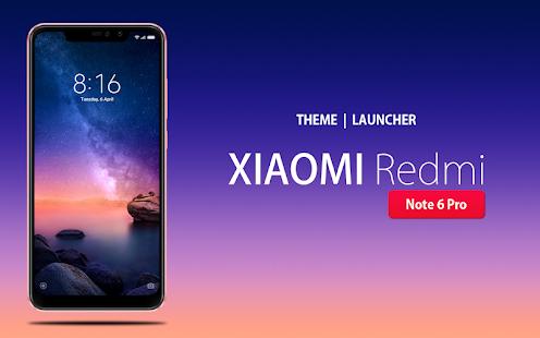 Theme for Xiaomi Redmi Note 6 Pro 1.0.3 screenshots 1