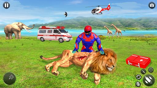 Light Superhero Speed Hero Robot Rescue Mission 1.10 screenshots 1