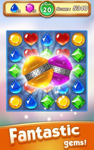 Jewel & Gem Blast - Match 3 Puzzle Game 2.5.1 screenshots 12