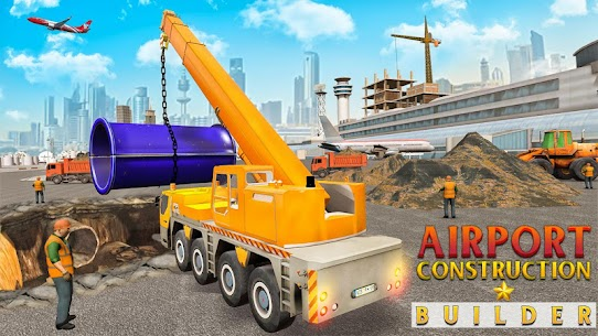 Airport Construction Builder 5