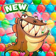 Dino Pop! Bubble Shooter Arcade & Puzzle Adventure