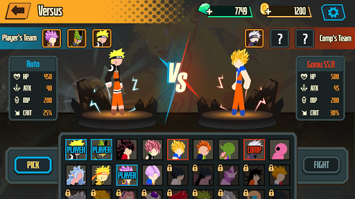 Stickman Dragon Fight - Super Stick Warriors 1.1.2 screenshots 5