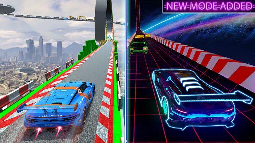 Extreme Mega Ramp GT Car Stunts- New Car Game  Screenshots 2