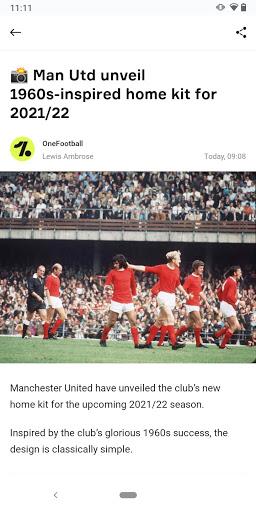 OneFootball - Soccer News, Scores & Stats  screenshots 5