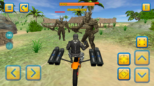 motorbike beach fighter 3d screenshot 2