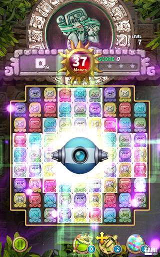 Glyph of Maya - Match 3 Puzzle  screenshots 19