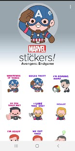 Avengers: Endgame Stickers Screenshot