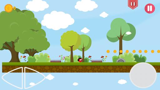 Super Red Jump Ball Mr Mustache 2.3 screenshots 7