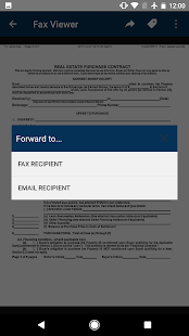 MyFax app - send fax from phone