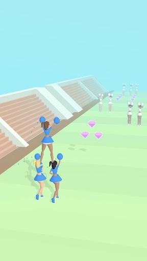 Cheerleader Run 3D screenshots 1