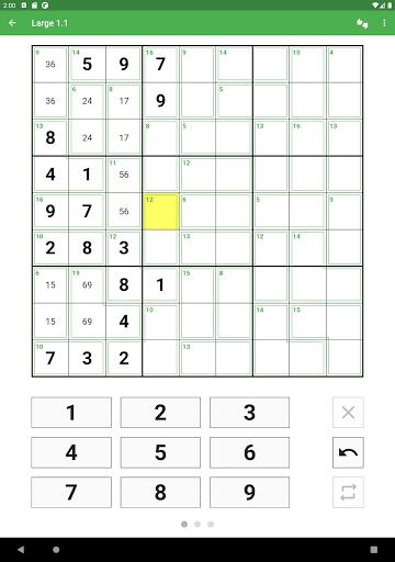 Killer Sudoku 2.1.7 screenshots 15