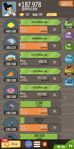 AdVenture Capitalist: Idle Money Management  screenshots 9