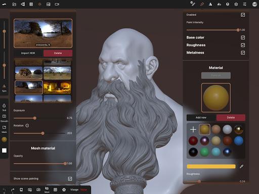 Nomad Sculpt 1.40 Screenshots 22