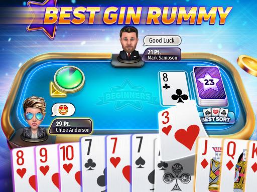 Gin Rummy Stars - Free online Rummy card game 1.11.101 screenshots 1
