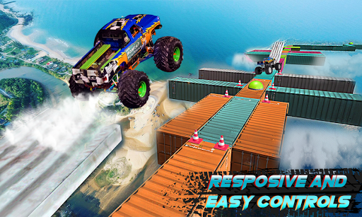 Race Off - stunt car crashing infinite loop racing  screenshots 3