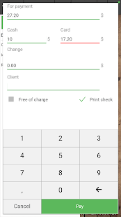 Cloud POS (point of sale)