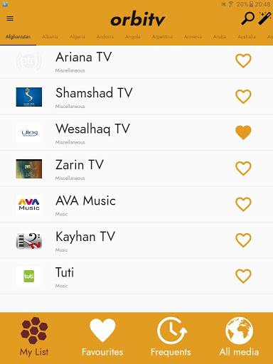 Foto do Orbitv App 2000+ USA & Worldwide free TV channels