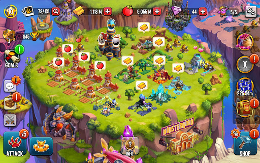 Monster Legends: Breeding Simulator & RPG Arena screenshots 12