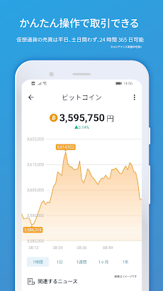 仮想通貨チャート bitFlyer ウォレット ビットコインやリップル、イーサリアムなどを売買のおすすめ画像5