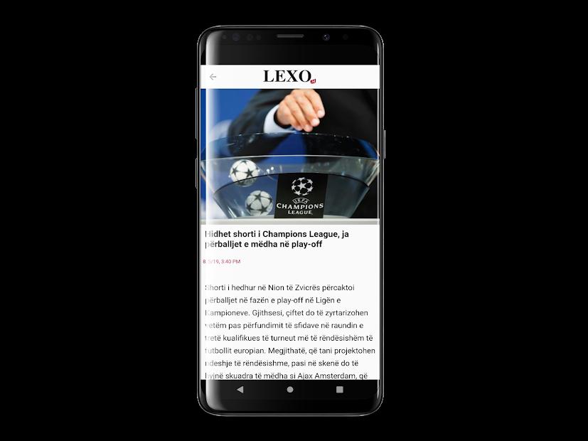 Lexo.al screenshot 1