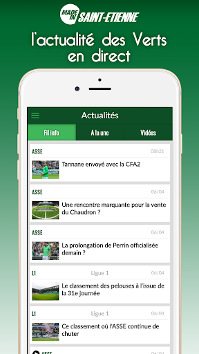 Foot Saint-Etienne modavailable screenshots 10