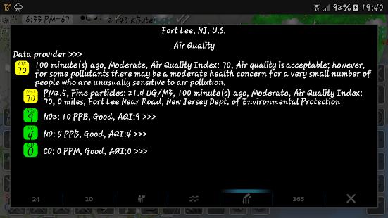 eMap HDF - weather, hurricanes and rain radar 2.2.8 Screenshots 15