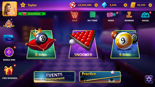 Sir Snooker: Billiards - 8 Ball Pool 1.9.1 screenshots 1