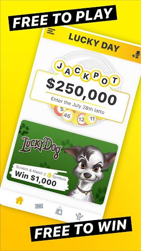 Lucky Day - Win Real Money 7.2.3 screenshots 1