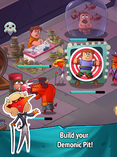 Idle Heroes of Hell - Clicker & Simulator Pro Screenshot