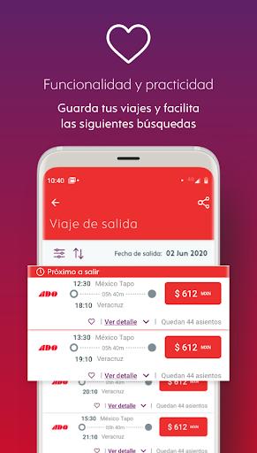 ADO Boletos de Autobu00fas 2.15.5 Screenshots 5