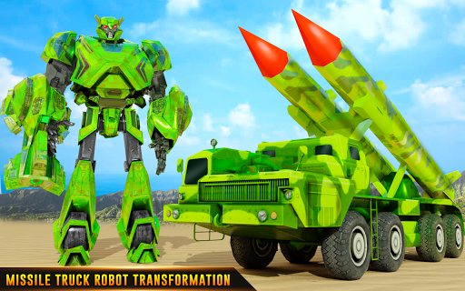 US Army Robot Missile Attack: Truck Robot Games 23 Screenshots 8
