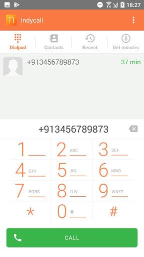 IndyCall - Free calls to India apktram screenshots 2