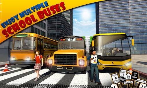 Schoolbus Driver 3D SIM Apk Download 4
