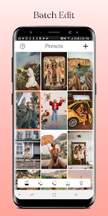 Tezza - Aesthetic Photo Editor, Filters & Presets Screenshot