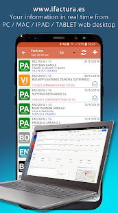 FacturaOne - ERP Management bills with Mobility Screenshot