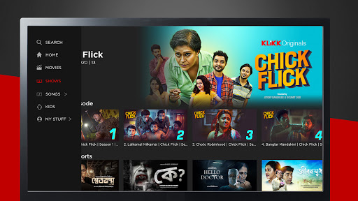 KLiKK u2013 Bengali Movies   Web Series   Music   Kids screenshots 3