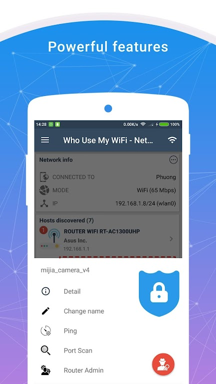 Who Use My WiFi - Network Scanner (Pro)  poster 1