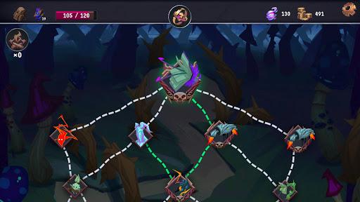 Breach Wanderers: A Roguelike Deckbuilder  screenshots 3