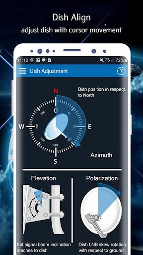 Satellite Finder (Area Calculator) Dish Pointer 1.0.6 Screenshots 17