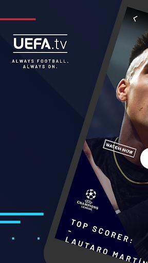 UEFA.tv Always Football. Always On. 1.6.2.133 screenshots 1