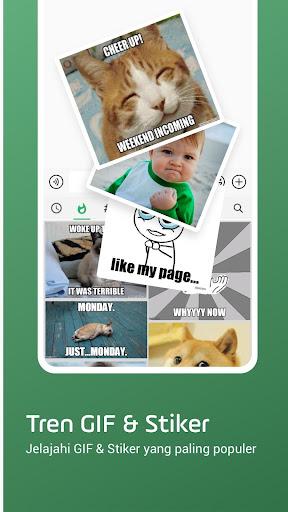 Facemoji  Keyboard Lite: GIF, Emoji keyboard, Tema