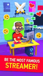 Idle Streamer – Become a new internet celebrity MOD (Money) 5